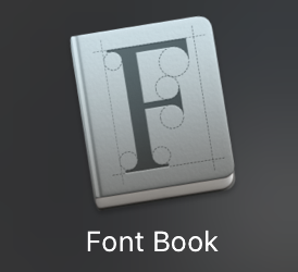 Adding Fonts to your Library on a Mac